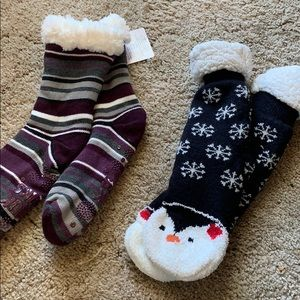 Winter Fuzzy cozy socks